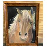 Talking Horse Painting by Kathelen Fox