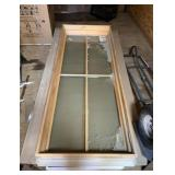 "Aluminum Clad Casement Window 29.5"" x 71.5"