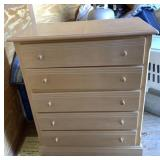 (5) Chest of 5 Drawers