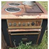 Antique Edison Hotpoint Stovetop Range Oven
