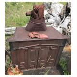 Antique Olympic Wood Burning Stove