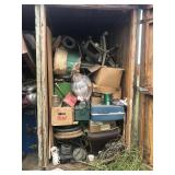 Entire Contents in Wood Shed  #11
