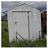 A-frame Shed (white)  7