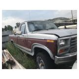 Salvage Ford Truck