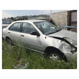 Salvage Nissan Car