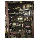 Back Room Vhs Collection & Antique Dresser
