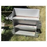 2 Library Rolling Carts