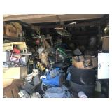 Contents Of Garage In Scrap Yard