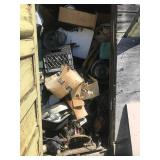 Contents Of Scrap Yard Shed