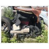 Hidden Lawn Tractor