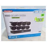 First Alert Video Security System - NIB