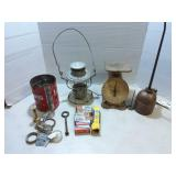 Rock Island Lanterm, Scale, Oil Can, GE Tubes