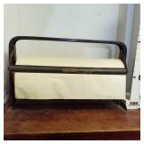 Vintage Bulman Wrapping Paper Cutter w/Paper