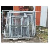 Dog Kennel w/Misc Panels & Gates