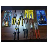 Pliers, Tin Snips, Misc Tools - Some New in Pkg