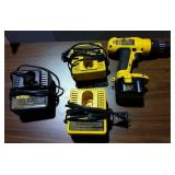 DeWalt Drill W/Extra Chargers