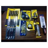 New Screwdriver Sets, Utility Knife, Tape Measure