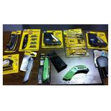 Assortment of Utility Knives - New
