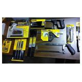 Assortment of Stanley Hand Tools - New