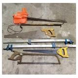 Hand Tools - Saws, Clippers, Flags