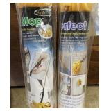 (2) Perfect Mops,Grabbers &Pole Light Bulb Changer