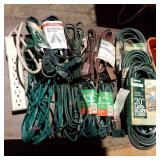 Misc Size New Extension Cords & Power Stake