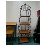 Beautiful wine rack approx 67 inches tall