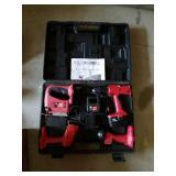 Mit 18 volt 4 pc cordless tool set in case