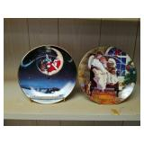 Avon collectables plates christma s 1998 and 1997