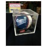 Signed advertising tides major league baseball