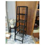 Heavy duty black metal shelf great for your