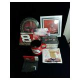 Variety of Dale Earnhardt Jr collectables
