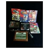 Dale Earnhardt collectables including several
