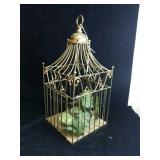 Brass bird cage