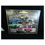 Chevy Trucks Tin Sign