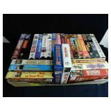 Large Group of Western VHS Movies