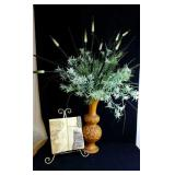 Designs by Dorothy floral arrangement and plaque