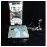 Dual AM, FM, CD with Install Kit for car truck or