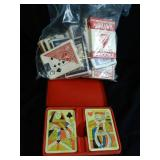 Playing Cards 2 sets in Case plus approx