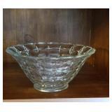 Marvelous vintage bowl with fruit design in