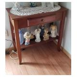 Appealing sofa table approx size 30 inches wide x