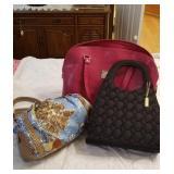 Group of 3 fashionable purses