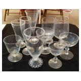 Candlewick glass and more