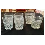 6 tumbler style Wexford glasses