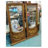 Pair of dresser mirrors approx size is 22 x 51
