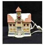 Home interior light up school house approx 5