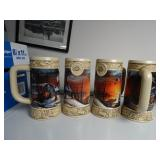 Miller Ducks Unlimited Terry Redlin Steins Lot 2