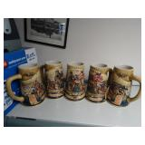 Miller Birth of a Nation Steins