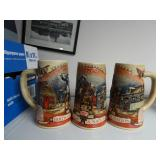 Miller Birth of a Nation Steins Lot 2