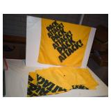 (11) Pack Attack Towels & Packer Schedule Display